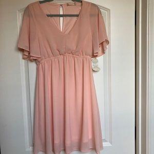 🌿Altar'd State Blush mini dress 💕